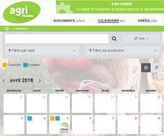 Calendrier agricole