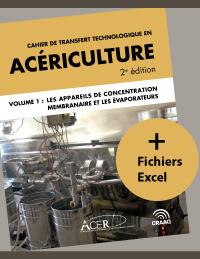 Cahier de transfert technologique en acériculture