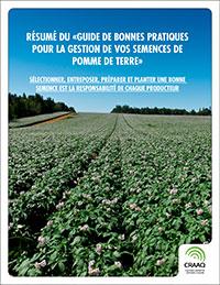 Guide des bonnes pratiques pour la gestion de vos semences de pomme de terre