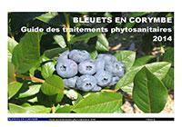 Bleuets en corymbe :  Guide des traitements phytosanitaires 2014 (PDF)